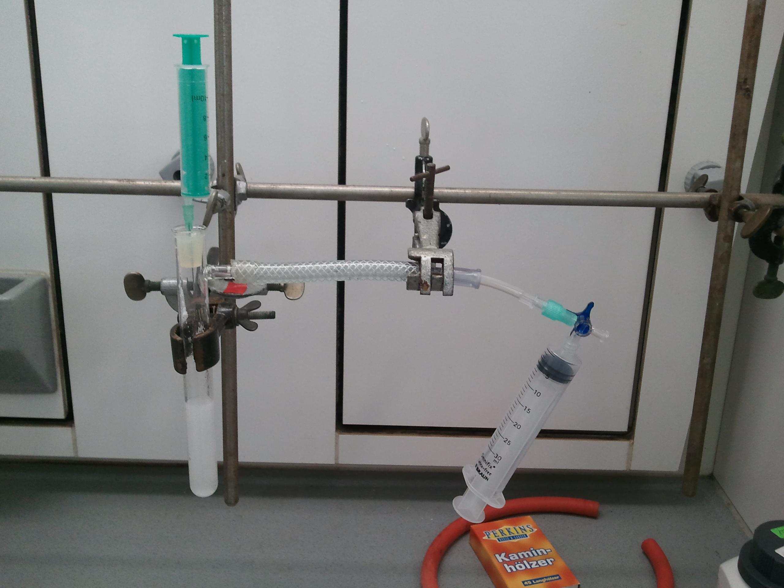 Ein einfacher Gasentwickler mit ChemZ