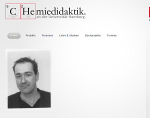Neue Webseite: Chemiedidaktik an der Universität Hamburg