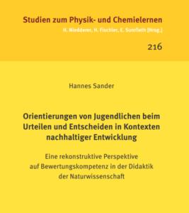 Dissertation im Logos-Verlag erschienen